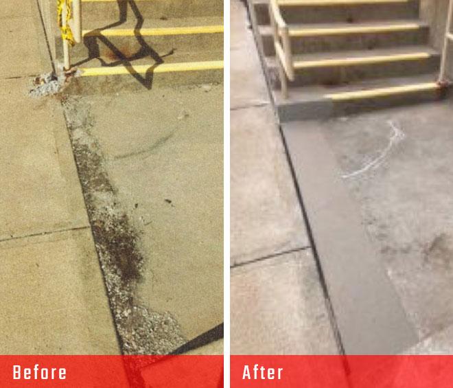 block real estate Concrete Repair