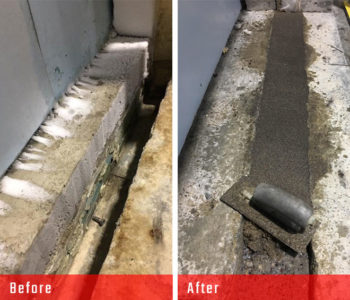 nor-am cold storage concrete repair