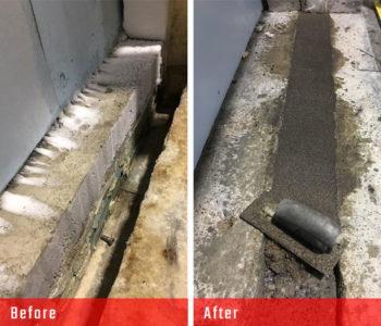 nor-am cold storage concrete repair